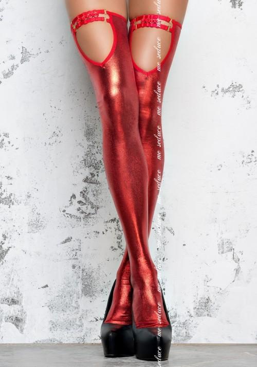 Чулки госпожи красные (Me Seduce) S/M