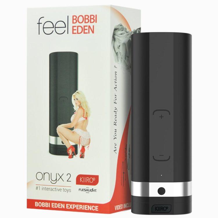 KIIROO Мастурбатор для секса на расстоянии Onyx 2 Bobbi Eden