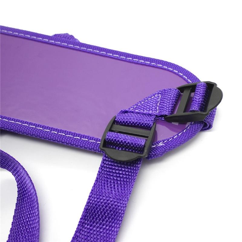 Пурпурный ремень для страпона
