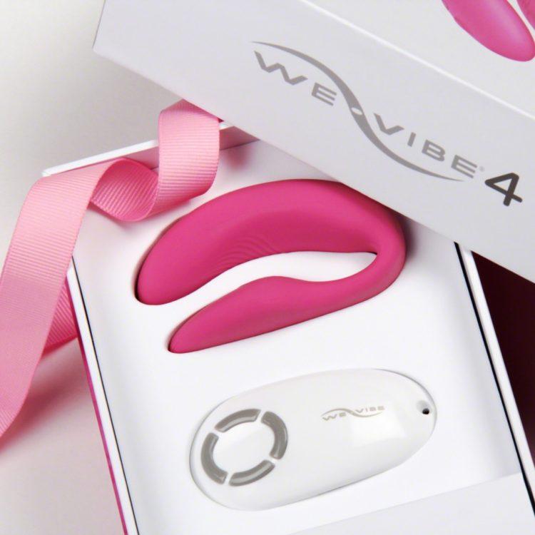 Вибро-массажёр We-Vibe 4 Plus Pink