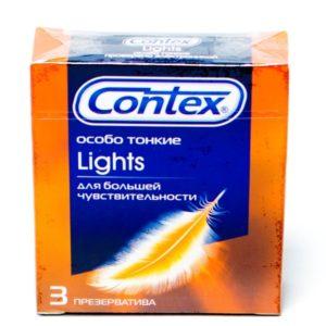 Презервативы Contex №3 Lights особо тонкие