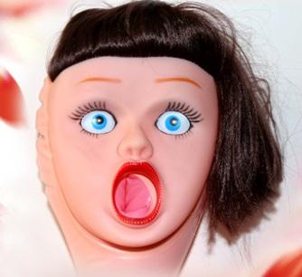 Кукла с открытым ротиком Finnish girl