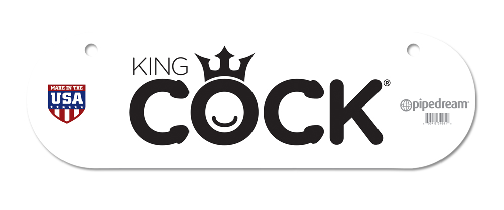 Промо знак King Cock Promotional Sign