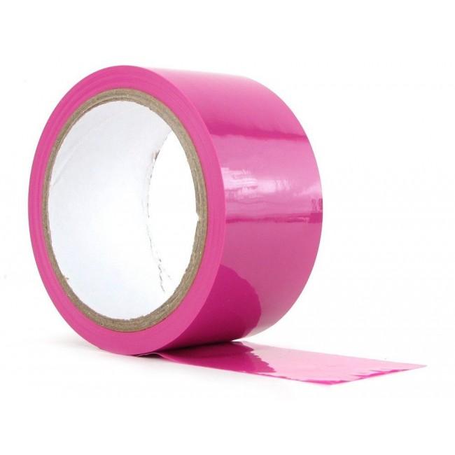 Бондажная лента My love розовая