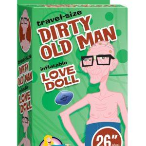 Мини-кукла для секса Travel Size Dirty Old Man Doll