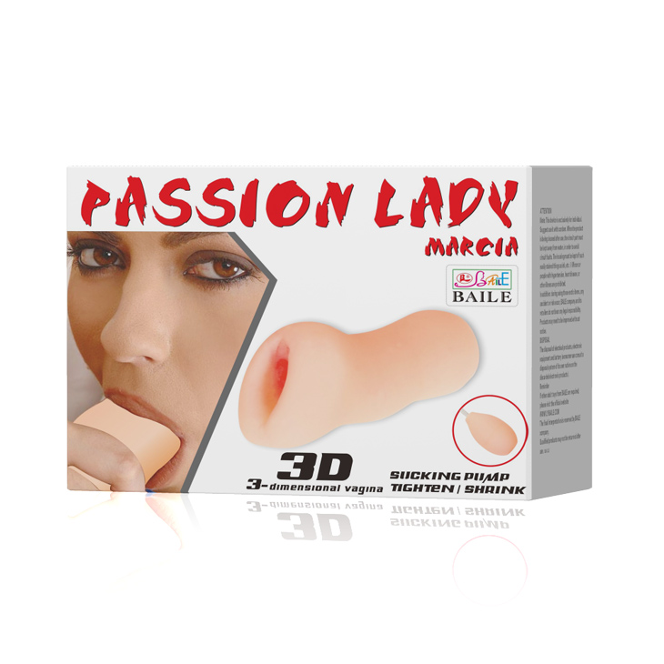Мастурбатор с грушей Passion Lady Marcia