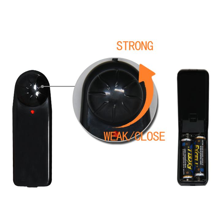 Страпон на ремне с выносным пультом управления Ultra Harness