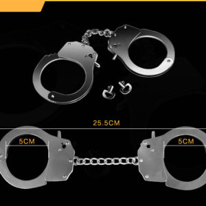 Наручники FETISH PLEASURE METAL HAND CUFFS