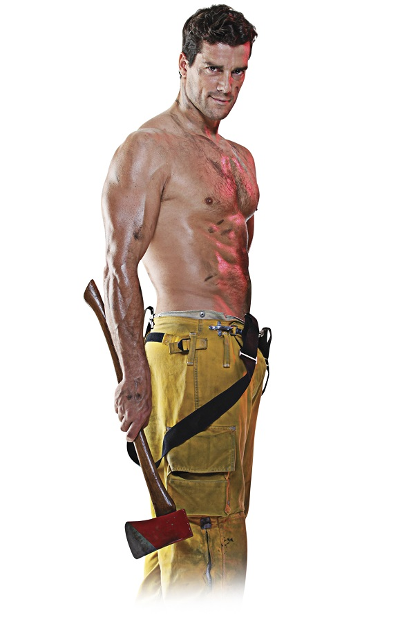 Кукла для секса Filthy Fireman Love Doll
