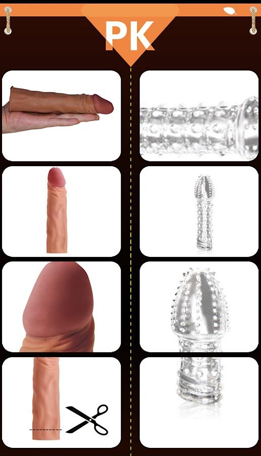 Насадка на пенис Pleasure X-tender Series мулат