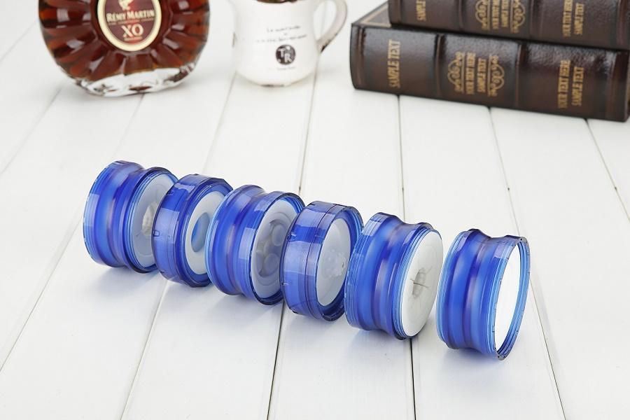 Мастурбатор в колбе разборный Heps Otris синий