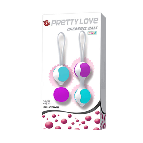 Вагинальные шарики Pretty Love Orgasmic Ball