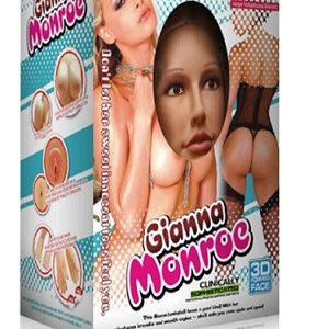 Кукла для секса с открытым ртом и вибрацией 3D Face Love Doll