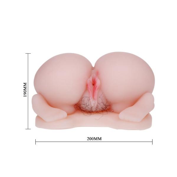Мастурбатор вагина и попка в Догги-стайл с выносным пультом управления