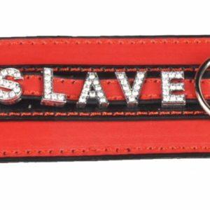 Ошейник  с надписью Slave