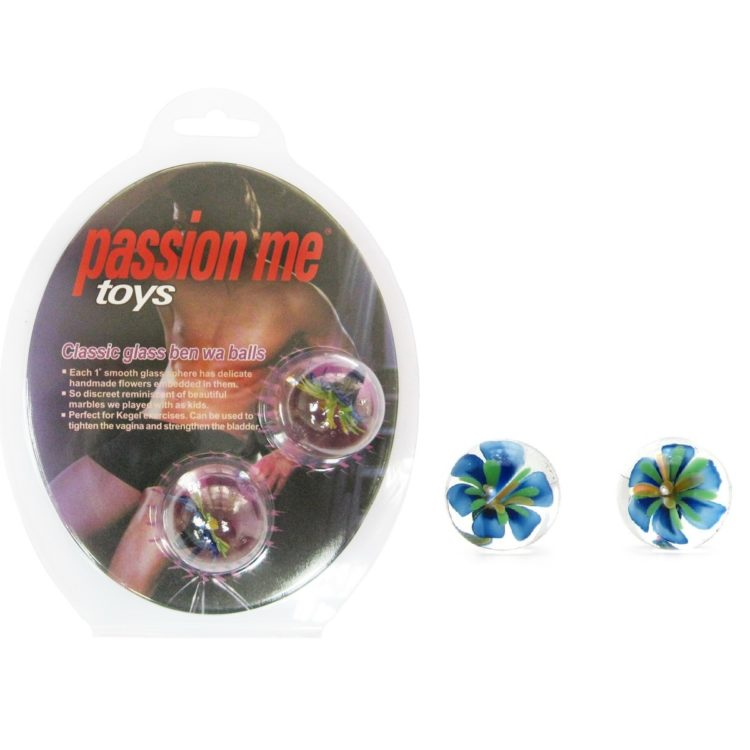 Вагинальные шарики Passion me голубые