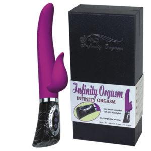 Элегантный вибратор Infiniti Orgazm перезаряжаемый Two