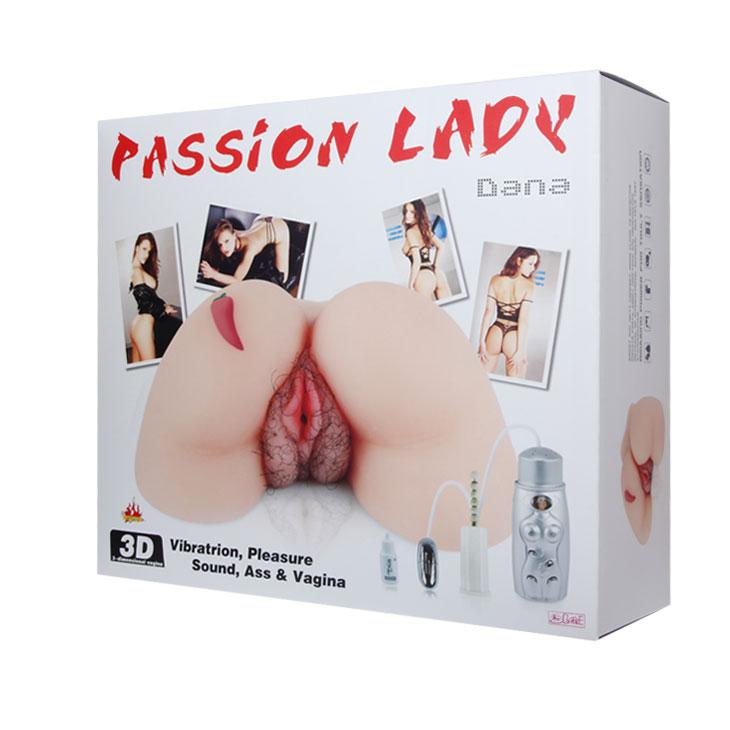 Реалистичный мастурбатор с вибрацией