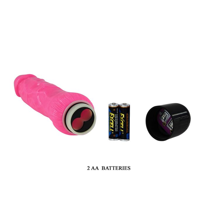 Розовый вибратор реалистичный