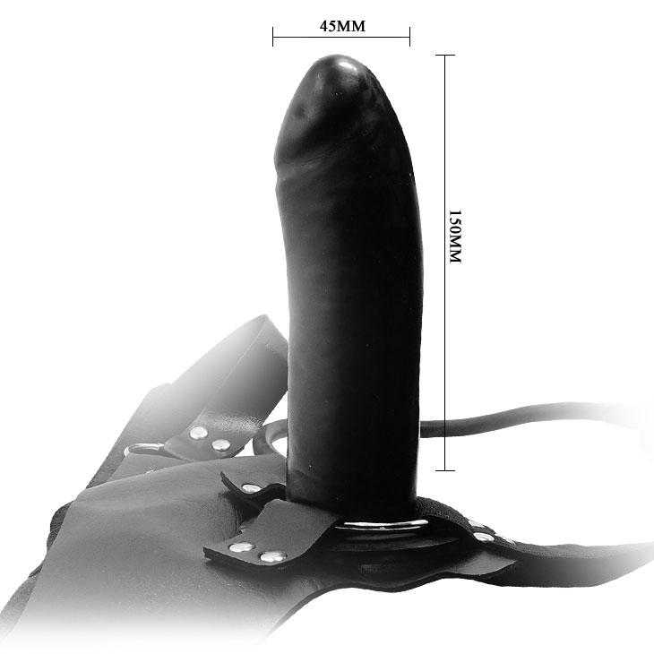 Страпон на трусиках с вибрацией Inflating Baron From German
