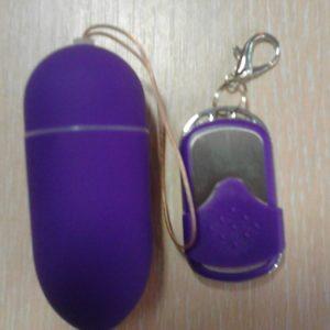 Пурпурное вибро-яйцо с беспроводным управлением