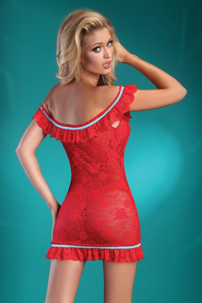 Изысканная сорочка MIJA RED S/M