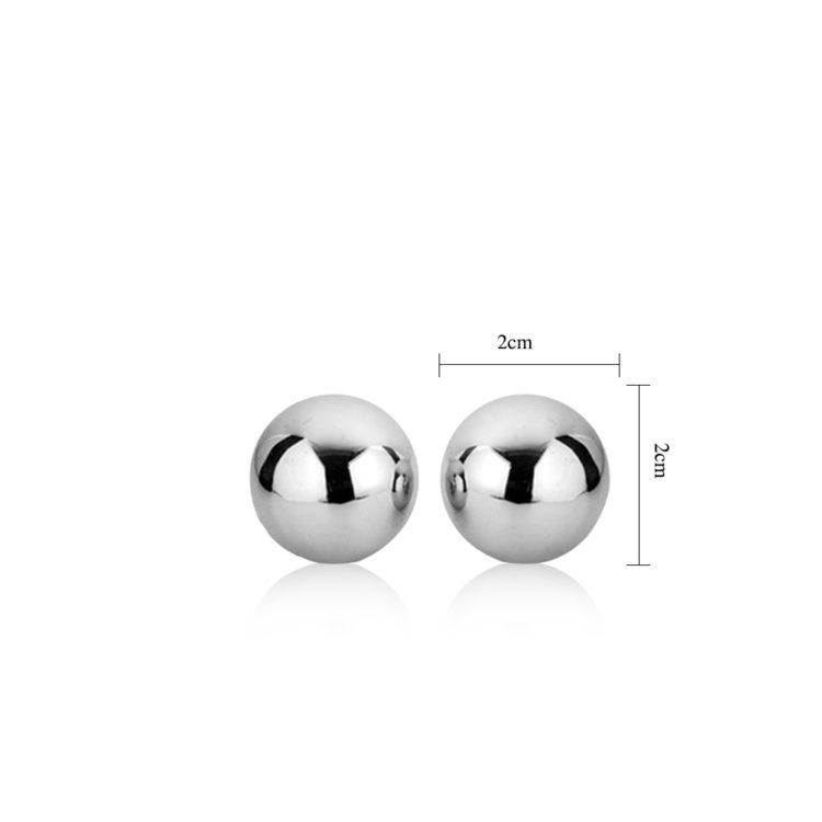Вагинальные шарики металлические Passion Dual Balls