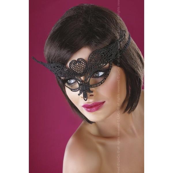 Черная кружевная маска Mask Black Model 10