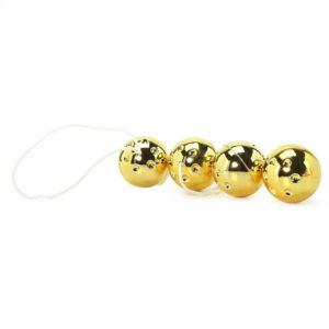 Вагинальные шарики Gold Vibro Balls 4 pc. Set