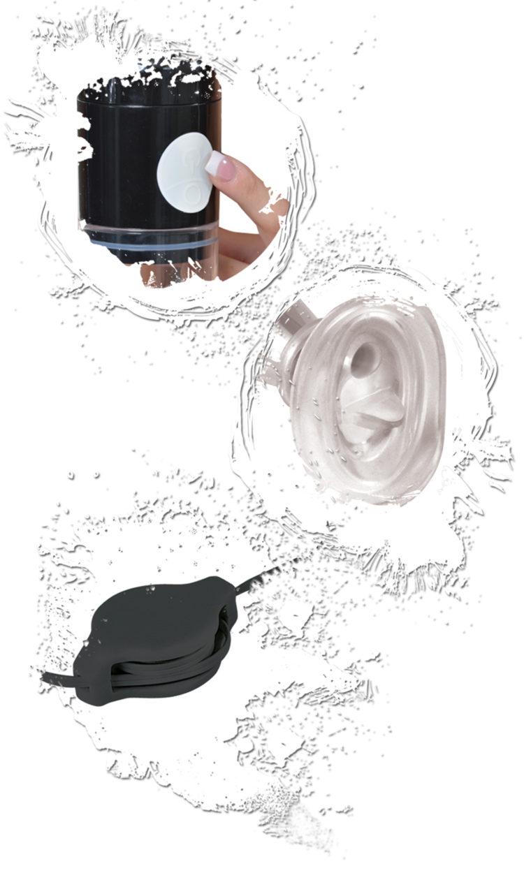 Универсальная вакуумная помпа FF Extreme Clit N' Tit Power Pump с вибрацией