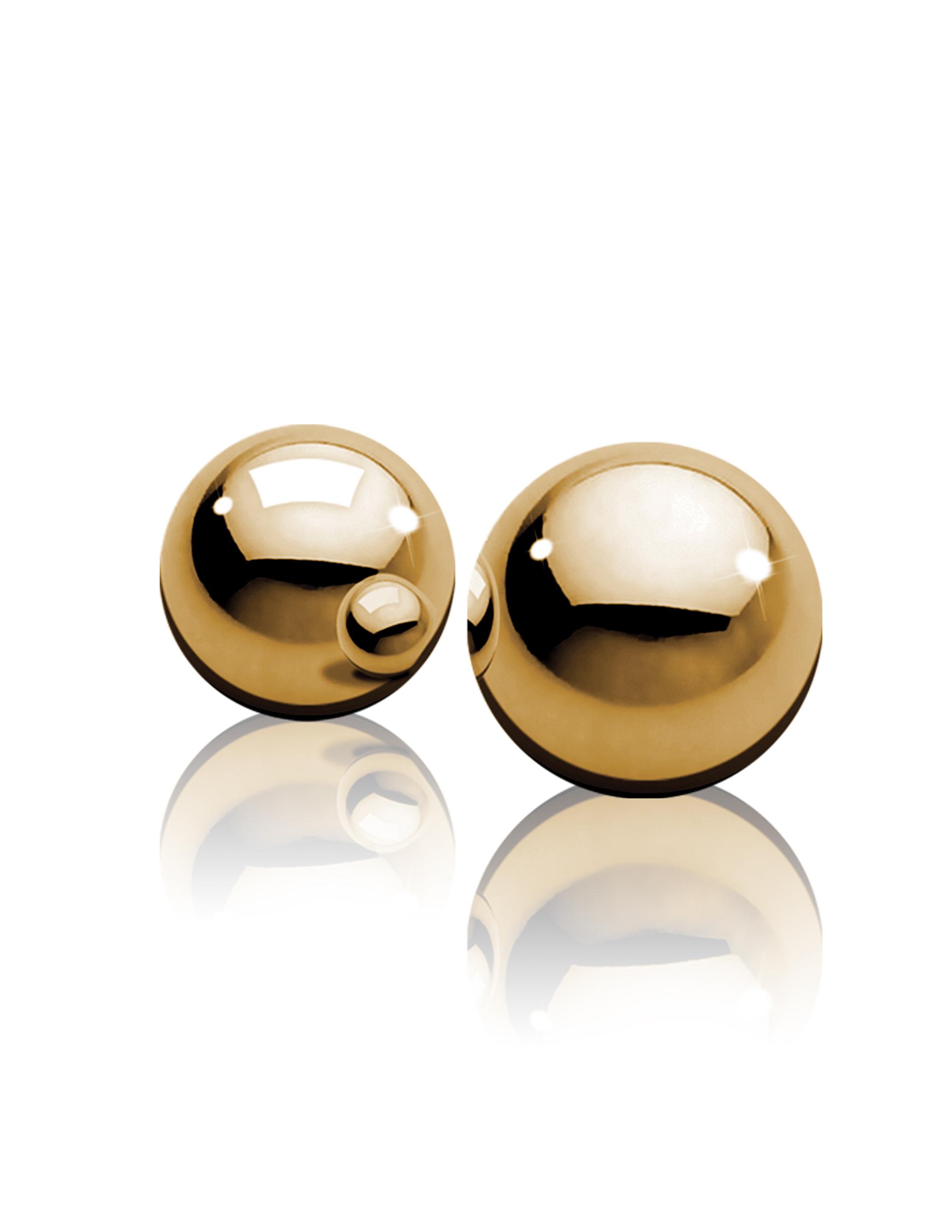 Вагинальные шарики FF Gold Ben-Wa Balls