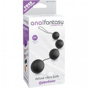 Анальные шарики AFC Deluxe Vibro Balls