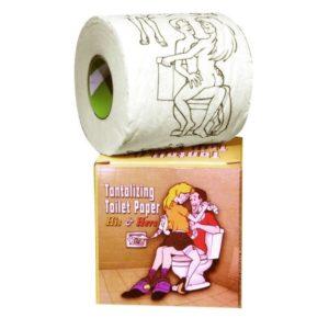 Сувенирный рулон с картинками Tantalizing Paper His & Hers