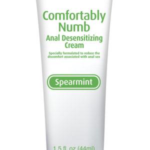 Набор для глубокого минета + анальная смазка Comfortably Numb Pleasure Kit - Spearmint