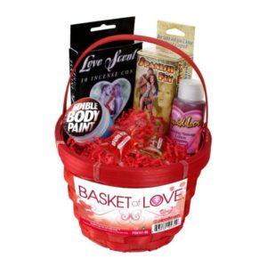 Подарочная корзина красная Basket of Love
