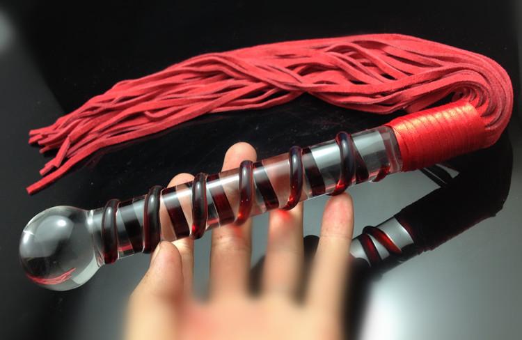 Плеть-фаллос из стекла