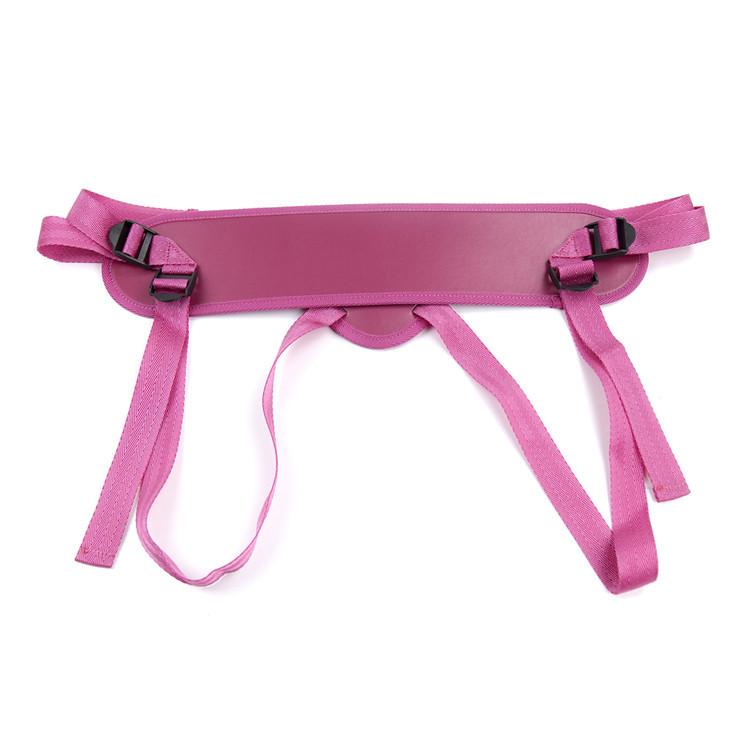 Розовый ремень для страпона