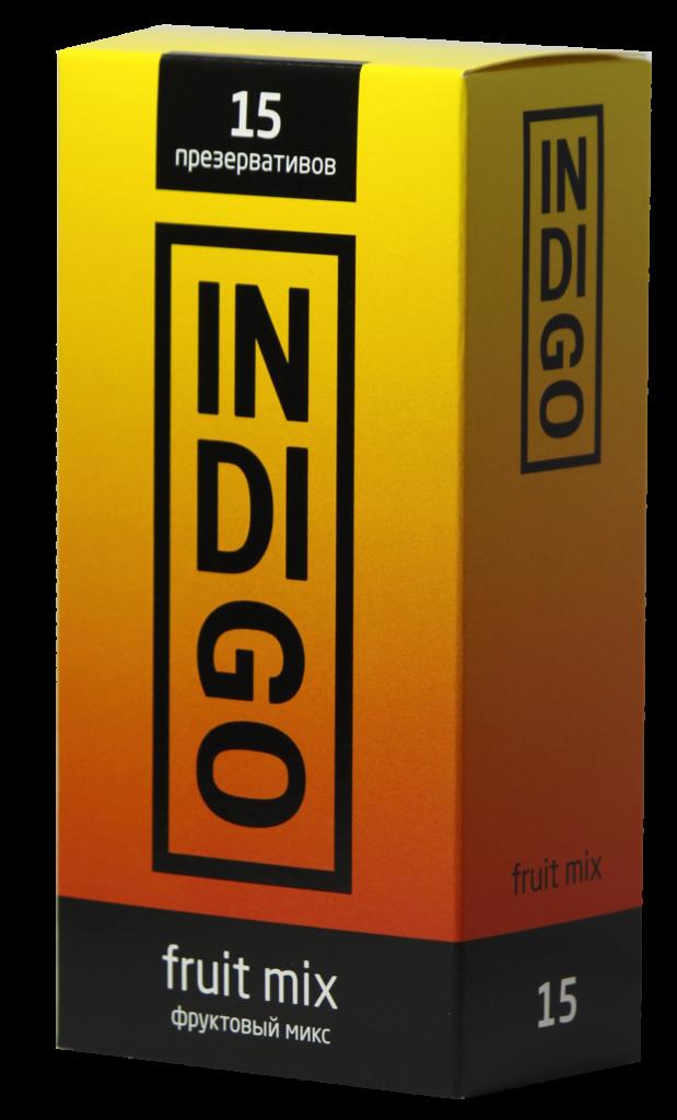Презервативы INDIGO Fruit mix №15 фруктовый микс