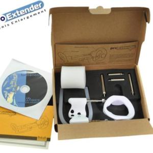 Экстендер для увеличения пениса ProExtender System белый