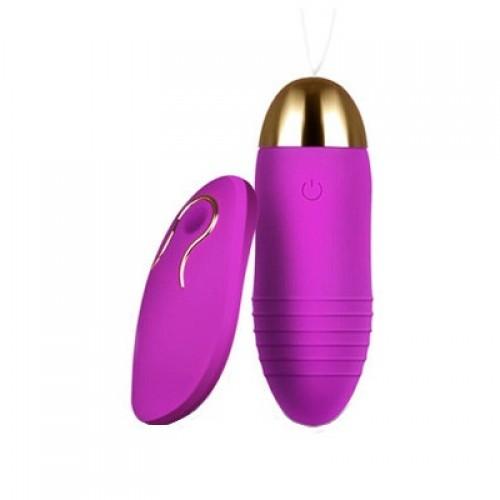 Перезаряжаемое виброяйцо purple