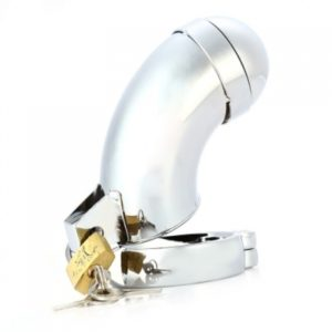 Пояс верности из нержавеющей стали с диаметром кольца 4'5 см