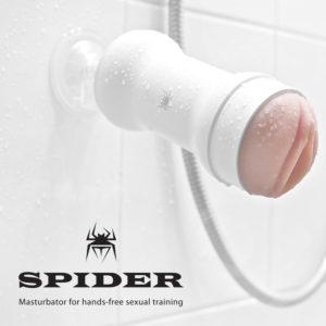 Мастурбатор вагина на присоске Spider Hands Free