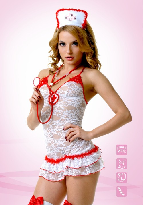 Костюм Медсестры кружевной (M/L)