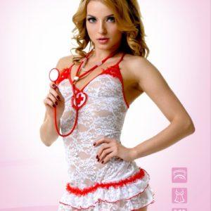 Костюм Медсестры кружевной (S/M)