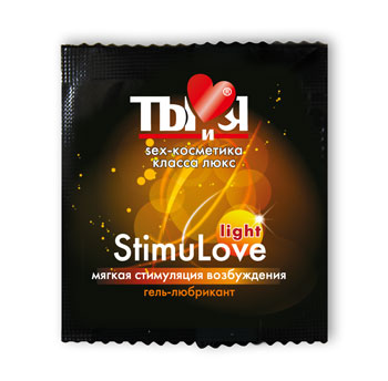 ГЕЛЬ-ЛЮБРИКАНТ Stimulove Light одноразовая упаковка 4г